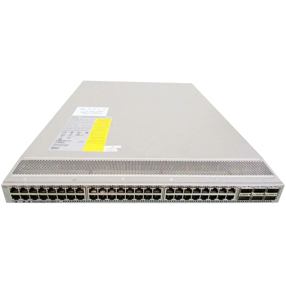 Cisco ONE Nexus 31108-VXLAN, 48 x 10GT and 6C/6Q QSFP ports # C1-N3K-C31108PC-V
