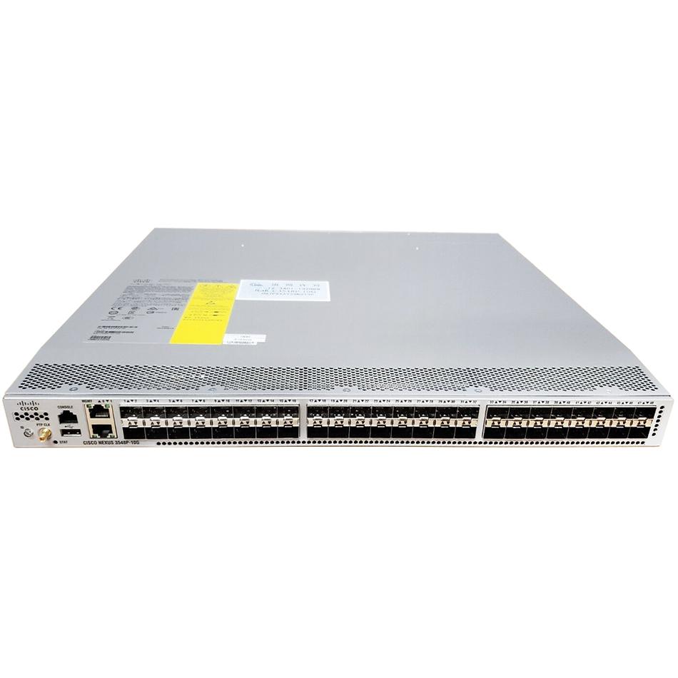 Nexus 3548+L3+Algo, Rev Airflow (port side intake), AC # N3K-C3548P-BA-L3A