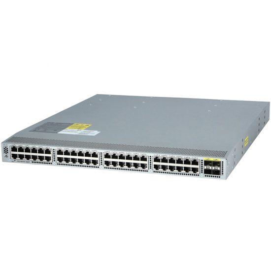Nexus 3048, Rev Airflow (port side intake), AC P/S, LAN Ent # N3K-C3048-BA-L3
