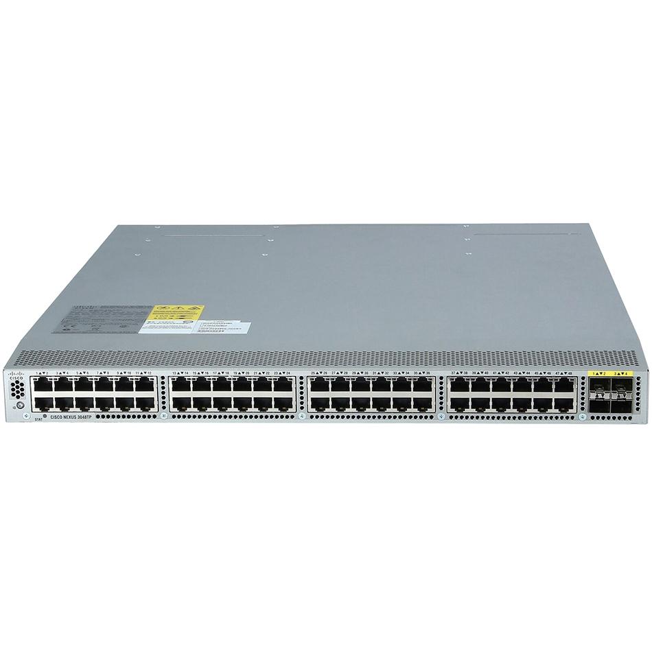 Nexus 3048, Rev Airflow (port side intake) DC P/S, LAN Ent L # N3K-C3048-BD-L3