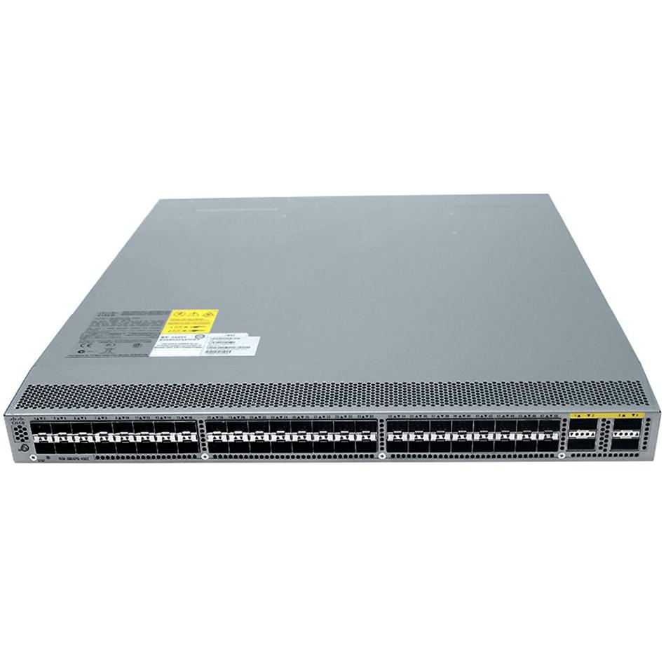 Nexus 3064-X, 48 SFP+, 4 QSFP+ ports, with enh scale, low-l # N3K-C3064PQ-10GX
