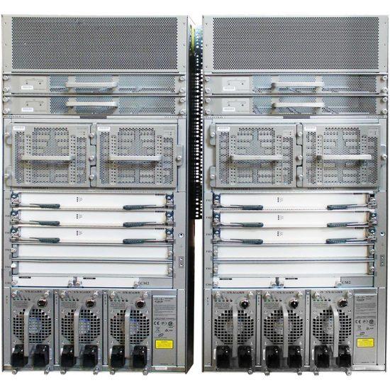 Nexus 7010 Bundle (Chassis,SUP1,(5)FAB2,(2)AC-6KW PSU) # N7K-C7010-BUN2