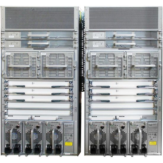 Nexus 7010 Bundle (Chassis,(2)SUP1,(5)FAB2,(3)AC-6KW PSU) # N7K-C7010-BUN2-R