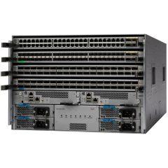 Cisco ONE Nexus 9504 Chassis Bun 1 Sup,3 PS,2 SC,6 FM,3 FT # C1-N9K-C9504-B2
