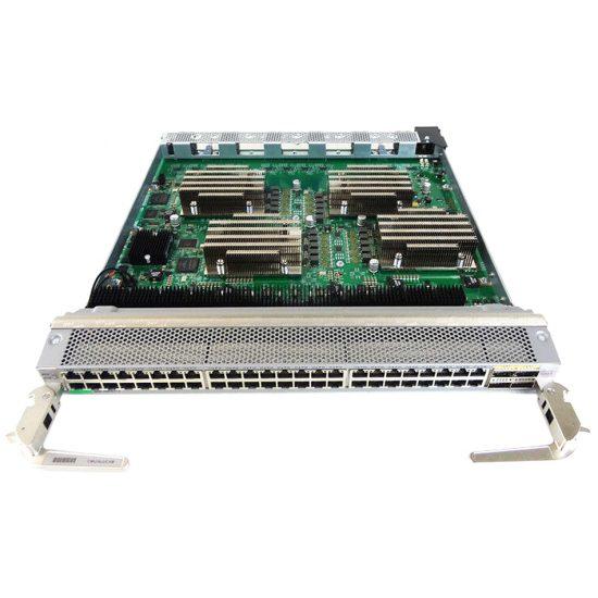 Nexus 9500 linecard, 48p 1/10G-T & 4p QSFP # N9K-X9464TX