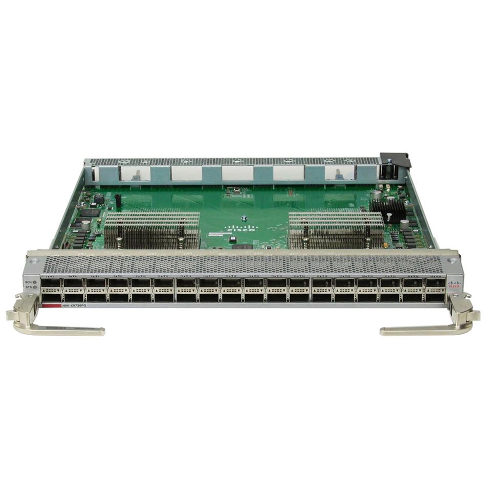 Nexus 9500 linecard, VxLAN Routing, 36p 40G QSFP # N9K-X9536PQ