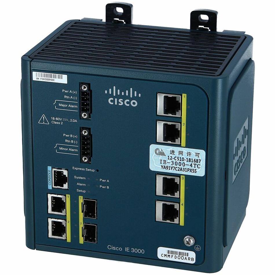 IE 3000 4-Port Base Switch w/ Layer 3 # IE-3000-4TC-E