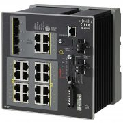 IE4000 switch with 16 FE Copper and 4 GE combo uplink ports # IE-4000-16T4G-E