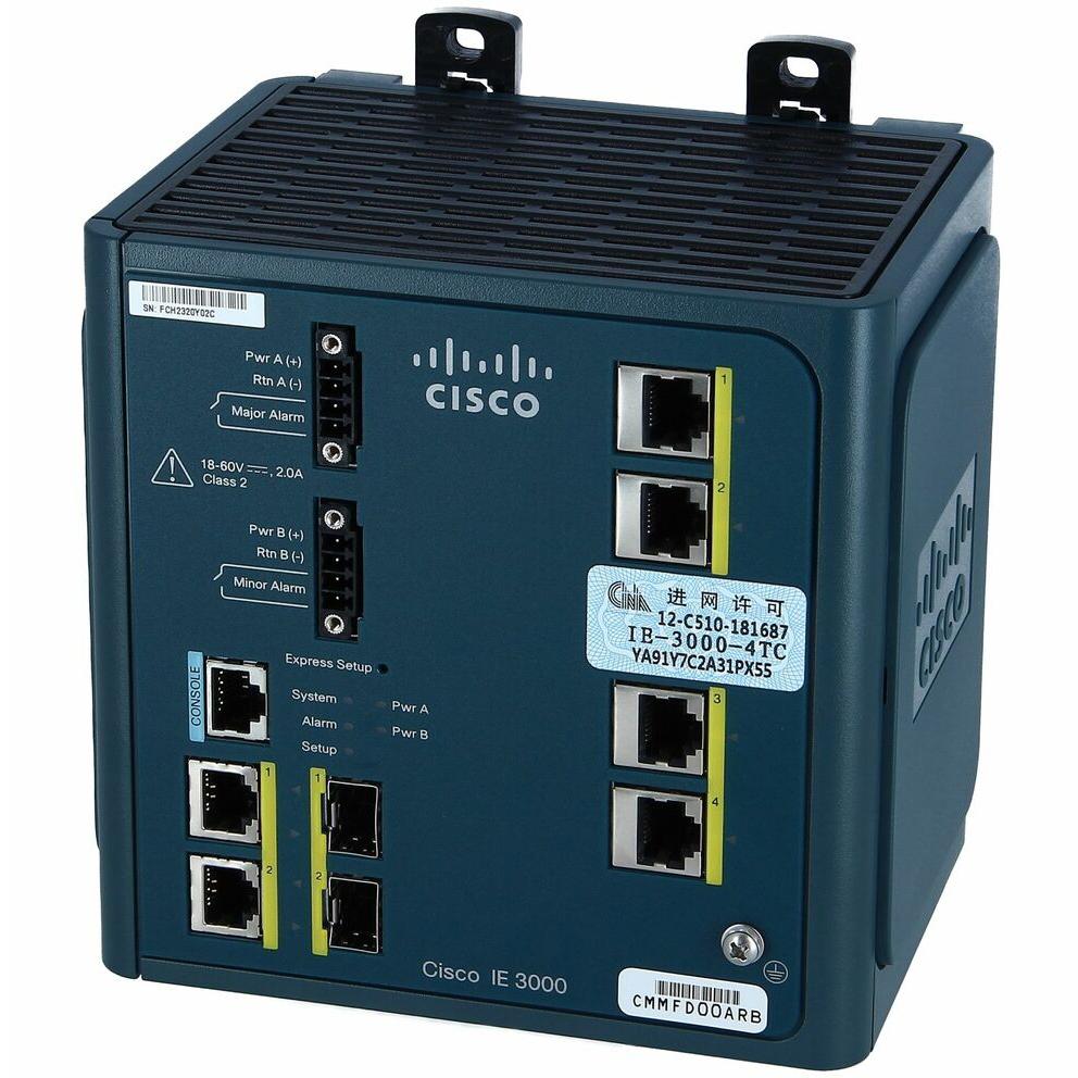 Cisco IE 3000 Expansion Module, 4 POE 10/100 # IEM-3000-4PC