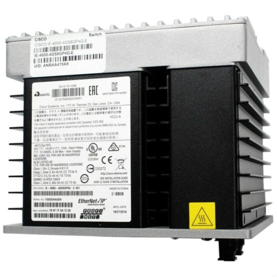 IE4000 with 8GE Copper, 8GE PoE+ and 4GE combo uplink ports # IE-4000-8GT8GP4G-E