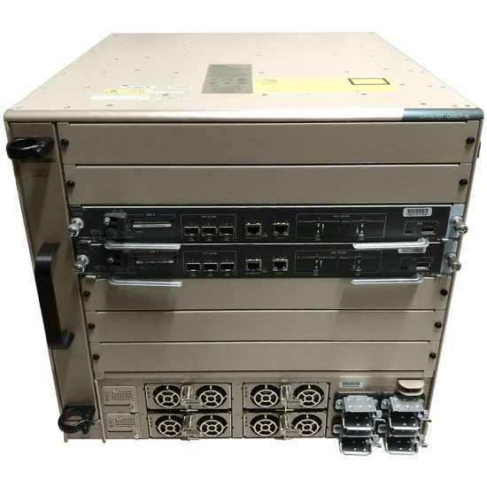 Chassis+Fan Tray+ Sup6T+2xPower Supply; IP Services ONLY # C6807-XL-S6T-BUN