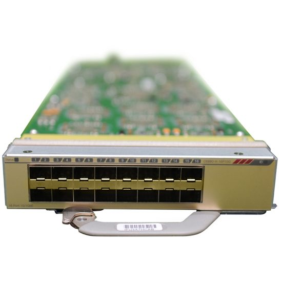 Cisco Catalyst 6880-X Multi Rate Port Card (XL Tables) # C6880-X-16P10G