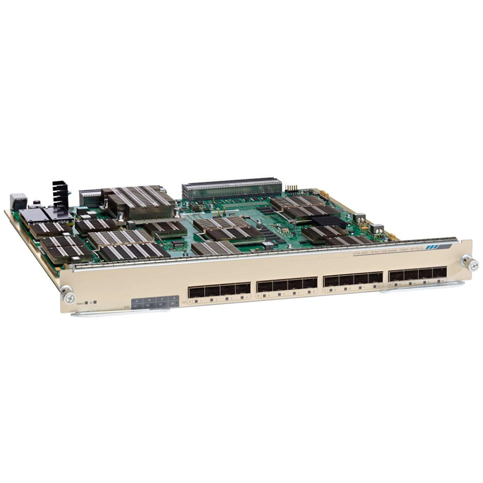 Catalyst 6800 8 port 10GE with integrated DFC4XL # C6800-8P10G-XL