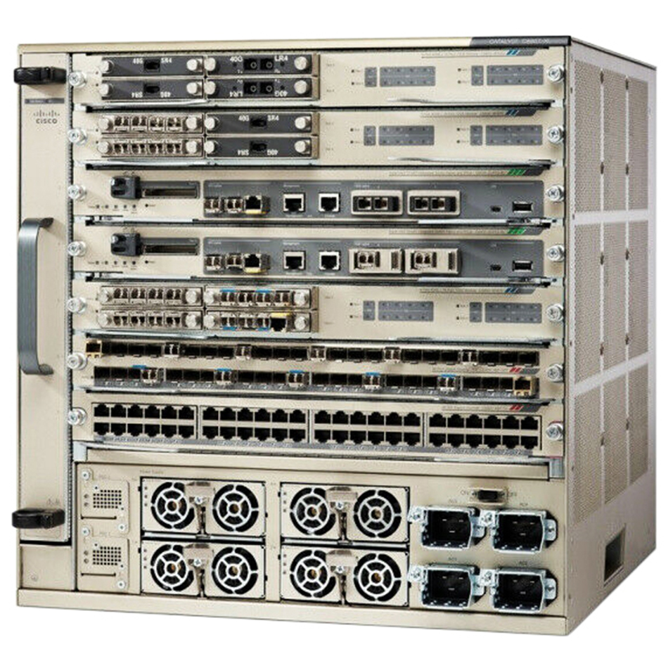 Chassis+Fan Tray+ Sup2T+2xPower Supply; IP Services ONLY # C6807-XL-S2T-BUN