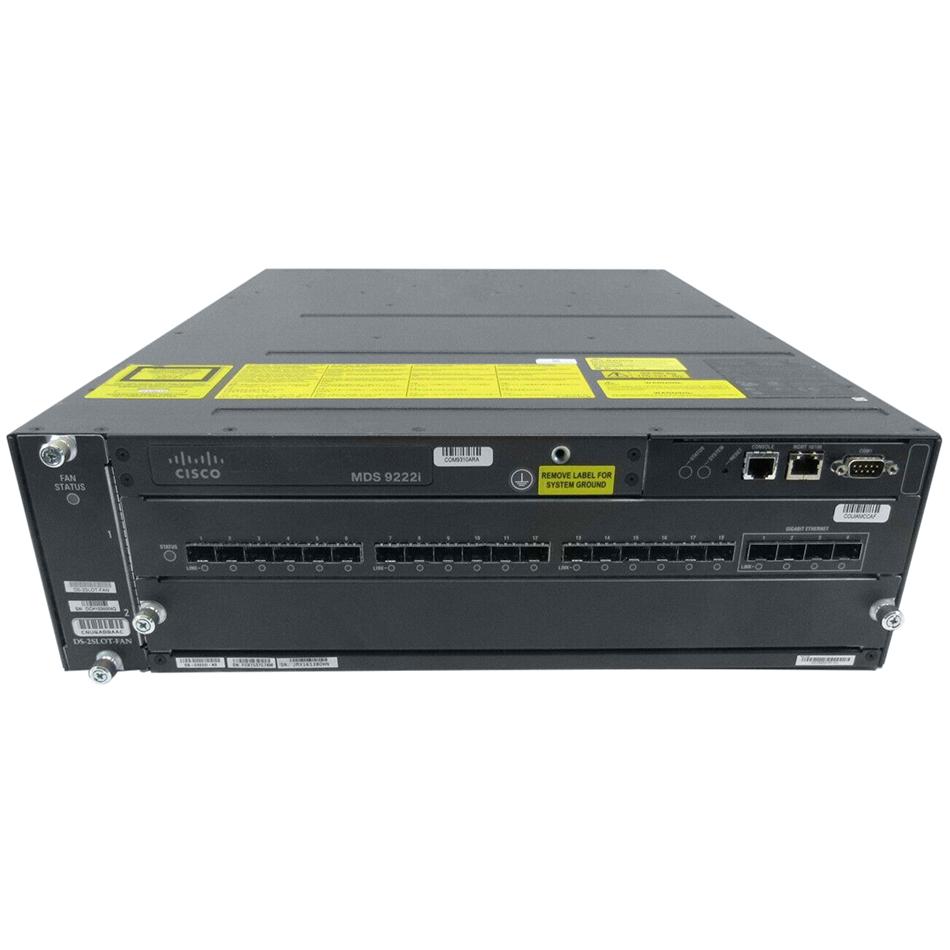 MDS 9222i 18-port FC and 4-port GE + 1-slot Modular Switch # DS-C9222I-K9