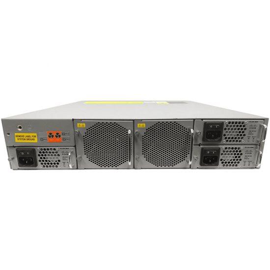 MDS 9250i 50 port switch base config bundle,20x8G FC optics # DS-C9250I8GSFPK9++