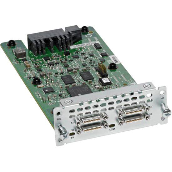 4-Port Serial WAN Interface card # NIM-4T