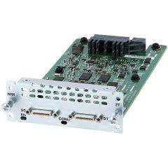 2-Port Serial WAN Interface card # NIM-2T