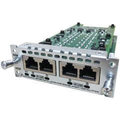 4-Port Network Interface Module – Ear and Mouth # NIM-4E/M