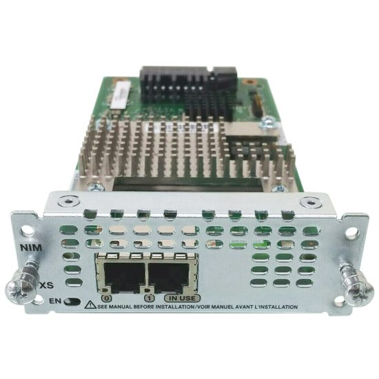 2-Port Network Interface Module – FXS, FXS-E and DID # NIM-2FXS