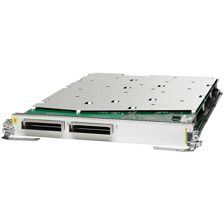 2-port 100GE, Packet Transport Optimized LC # A9K-2X100GE-TR