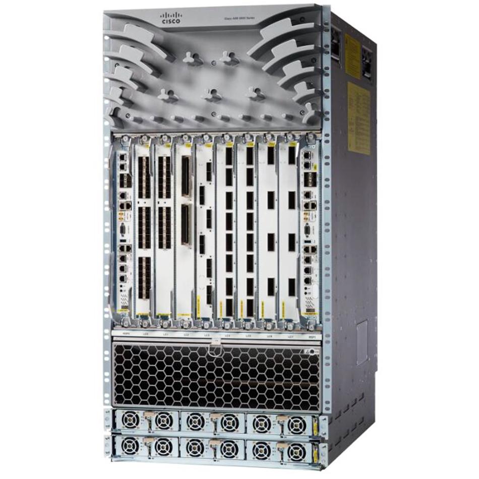 ASR 9912 10 Line Card Slot AC Chassis w/ PEM V2 # ASR-9912-AC