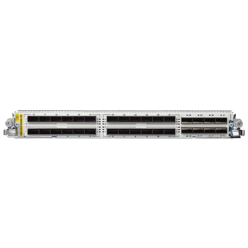 ASR 9900 32-port 100GE QSFP TR line card # A99-32X100GE-TR