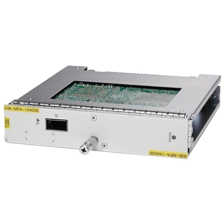 ASR 9000 1-port 40GE Modular Port Adapter # A9K-MPA-1X40GE