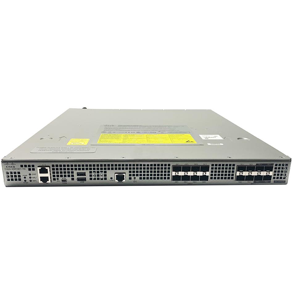 Cisco ASR1001-HX System,4x10GE+4x1GE,2xP/S, optional crypto # ASR1001-HX