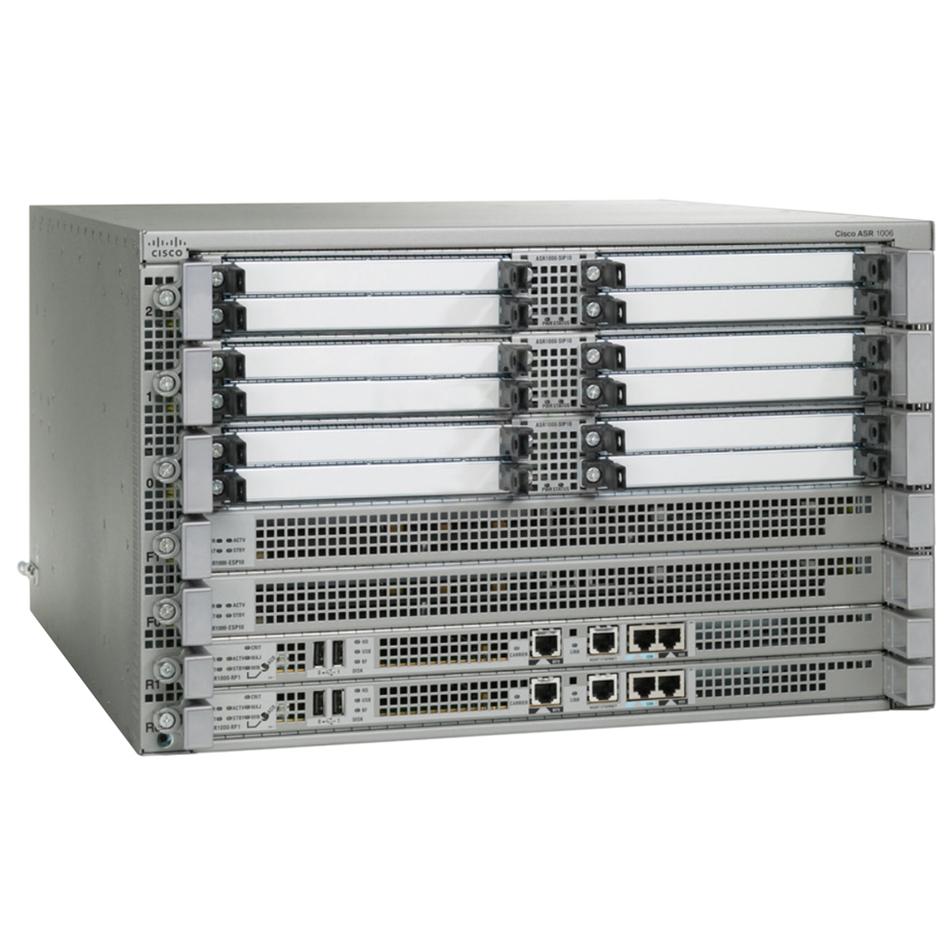 Cisco ASR1006 Chassis, Dual P/S # ASR1006