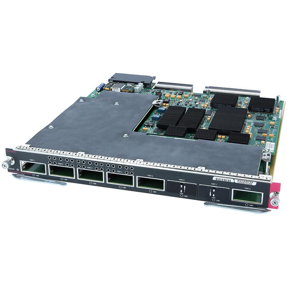 C6K 8 port 10 Gigabit Ethernet module with DFC3C (req. X2) # WS-X6708-10G-3C