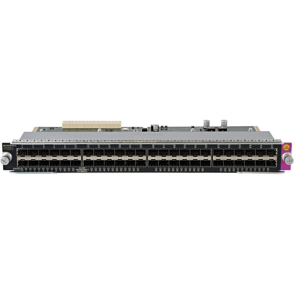 Catalyst 4500 E-Series 48-Port GE (SFP) # WS-X4748-SFP-E