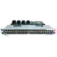 Catalyst 4500 E-Series 48-Port 10/100/1000 Non-Blocking # WS-X4748-RJ45-E