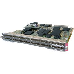 Catalyst 6500 48-port GigE Mod: fabric-enabled (Req. SFPs) # WS-X6748-SFP