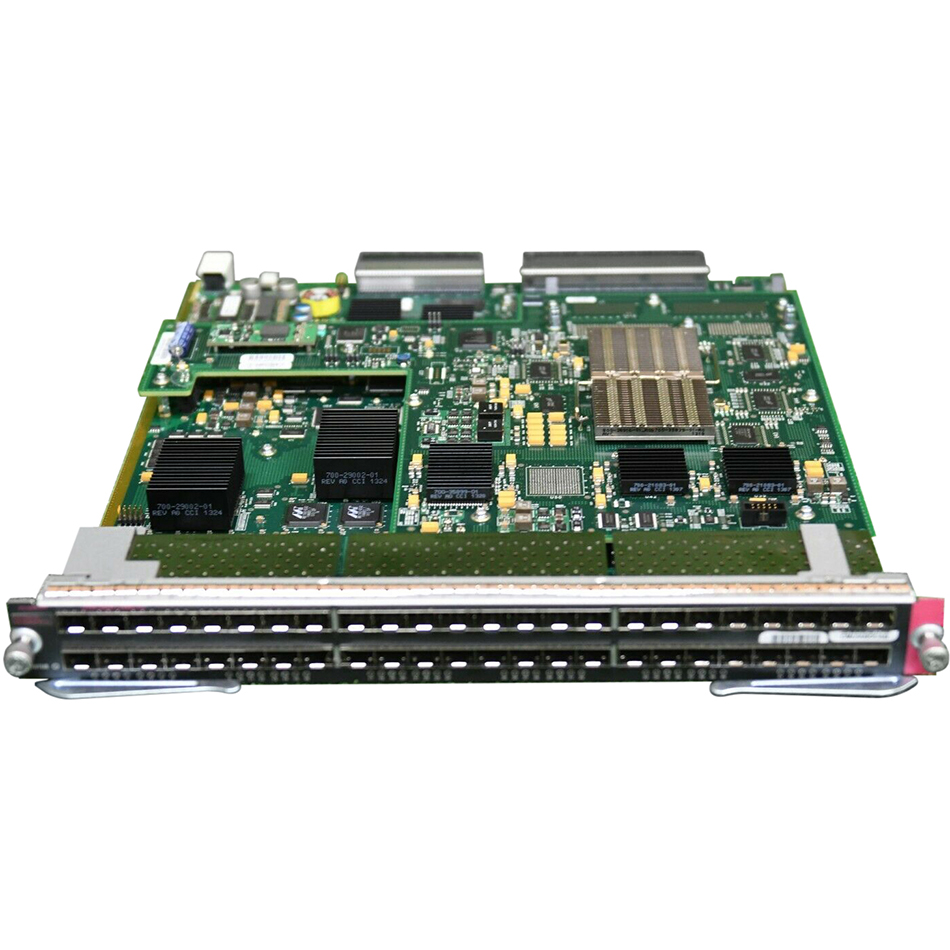 Catalyst 6500 48-port GigE Mod: fabric-enabled with DFC4 # WS-X6848-SFP-2T