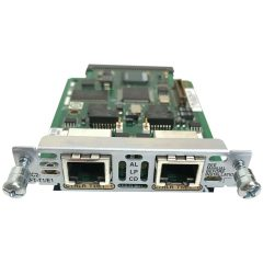 2-Port 2nd Gen Multiflex Trunk Voice/WAN Int. Card – T1/E1 # VWIC2-2MFT-T1/E1
