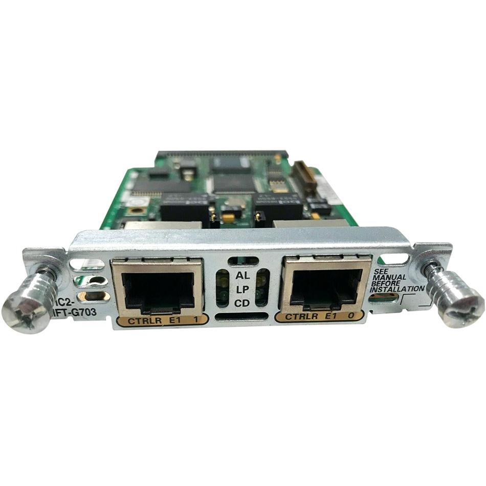 2-Port 2nd Gen Multiflex Trunk Voice/WAN Int. Card – G.703 # VWIC2-2MFT-G703
