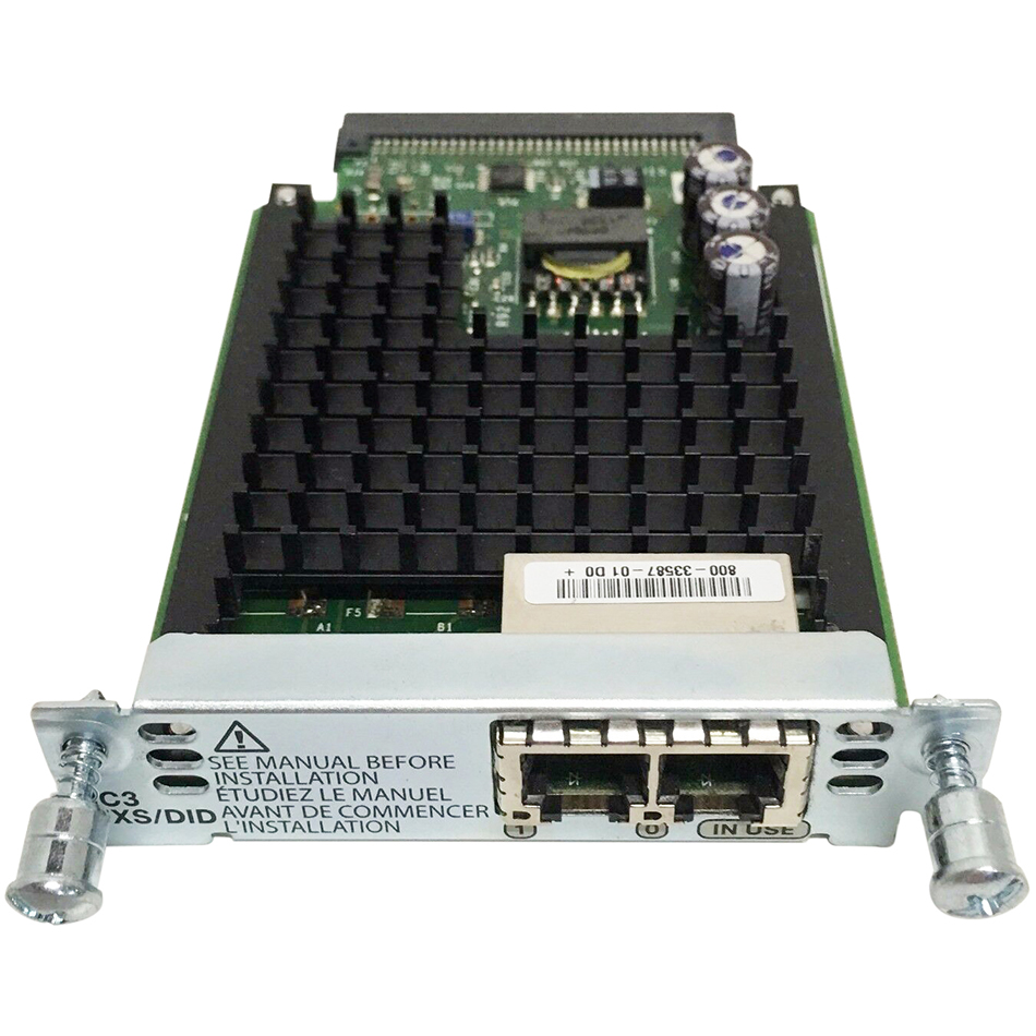 Two-Port Voice Interface Card- FXS and DID # VIC3-2FXS/DID