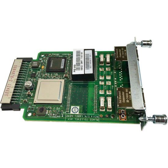 2-Port 3rd Gen Multiflex Trunk Voice/WAN Int. Card – T1/E1 # VWIC3-2MFT-T1/E1