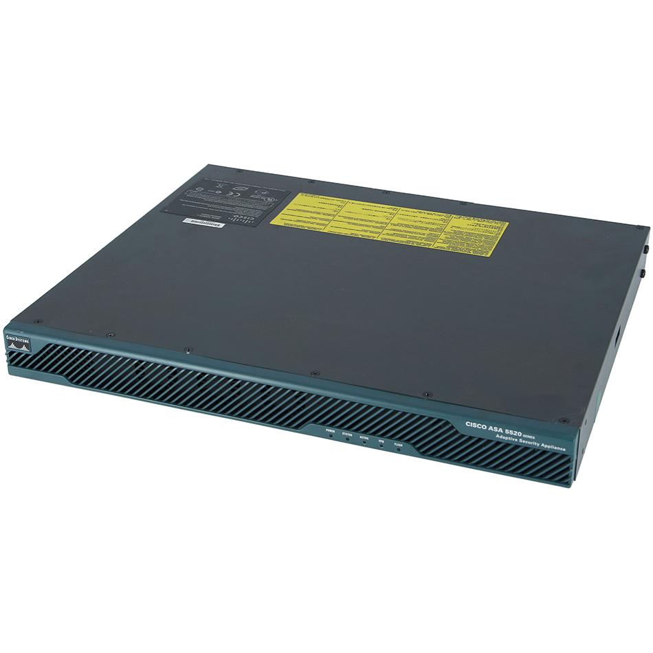 ASA 5520 Appliance with SW, HA, 4GE+1FE, 3DES/AES # ASA5520-BUN-K9