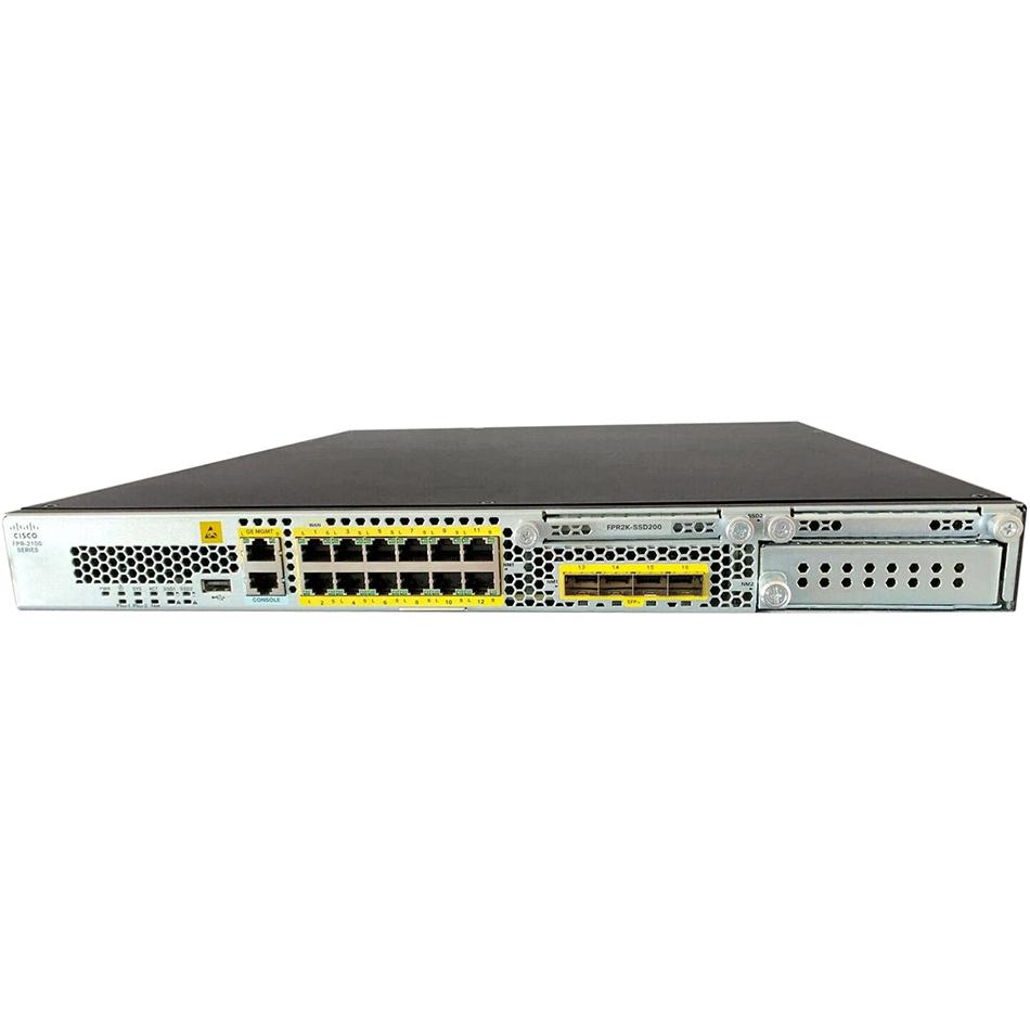 Cisco Firepower 2130 NGFW Appliance, 1U, 1 x NetMod Bay #FPR2130-NGFW-K9